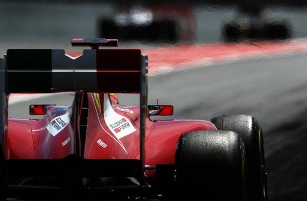 Fernando Alonso en los entrenamientos libres del GP de España 2011