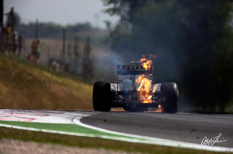 Nick Heidfeld en los terceros entrenamientos libres del GP de España 2011