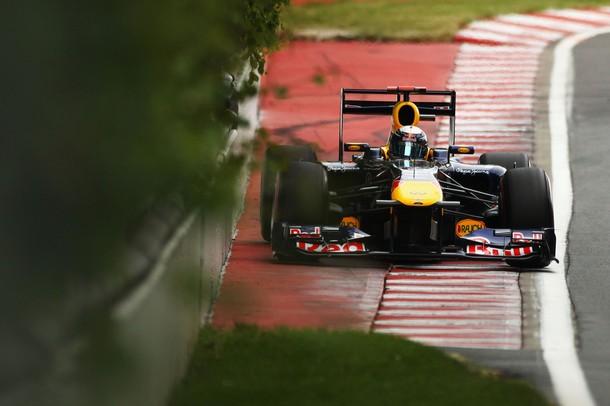 Sebastian Vettel durante la calificación del GP de Canadá 2011