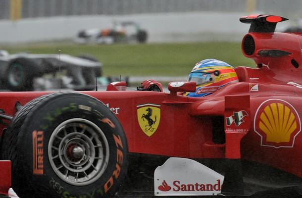 Fernando Alonso durante el GP de Canadá 2011