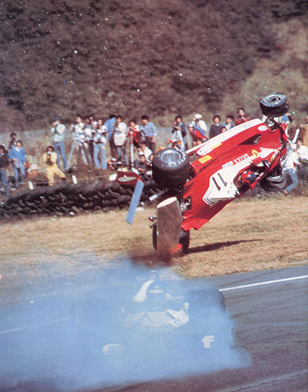 Accidente Gilles Villeneuve