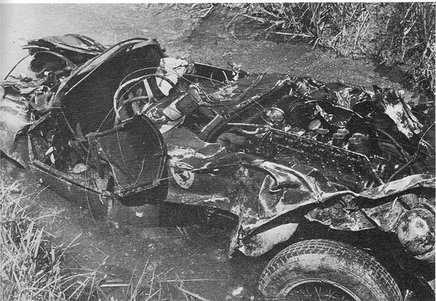 Accidente letal De Alfonso de Portago (Mille Miglia 1957)