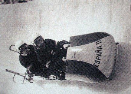 Alfonso De Portago compitiendo en las Olimpiadas.
