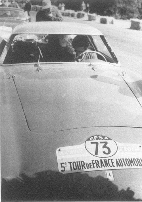 De Portago, ganador Tour France Automobile 1956
