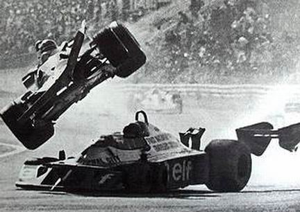 Fatal accidente G. Villeneuve