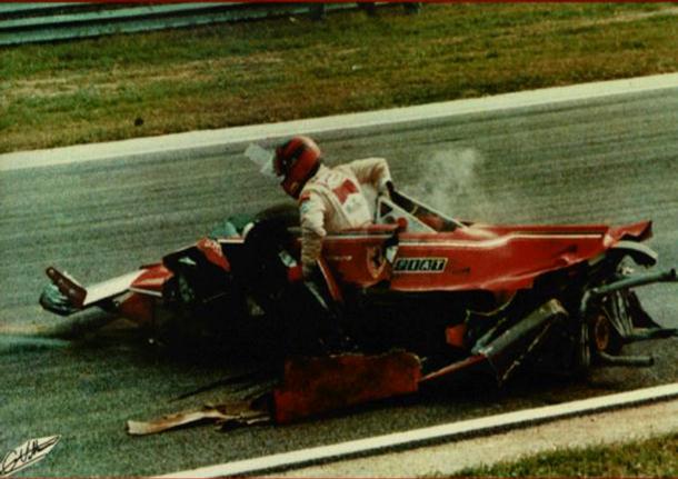 Gilles Villeneuve. GP Italia 1980