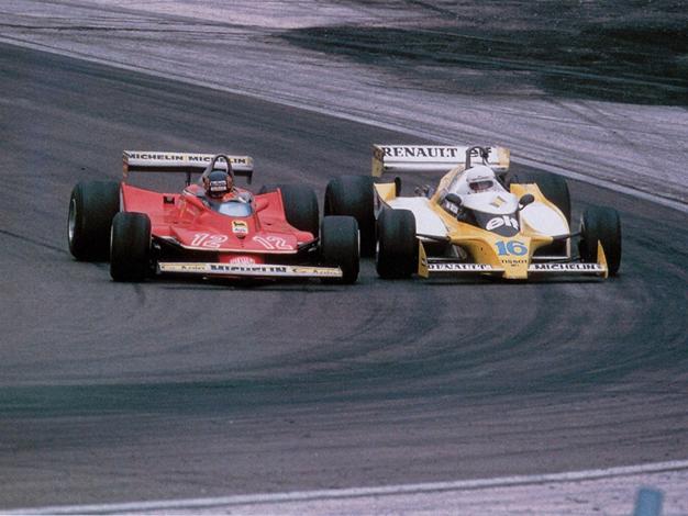 Mítico duelo Villeneuve-Arnoux