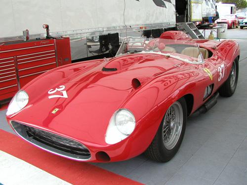 Modelo como el que condujo Portago en la Mille Miglia