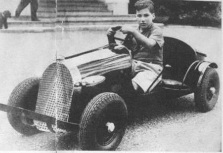 Un acomodado desde la infancia Portago. 1934