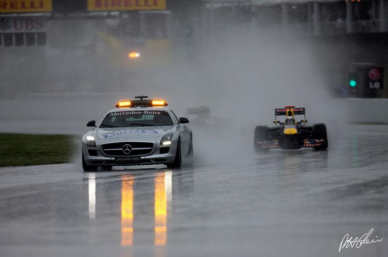 Safety car en el GP de Canadá 2011