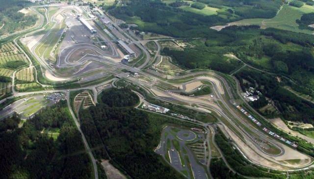 Circuito de Nurburgring visto desde el aire