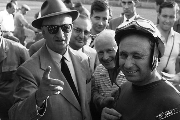 Fangio-Ferrari. Italia 1956
