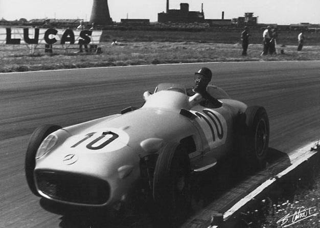 Fangio, GP Inglaterra 1955