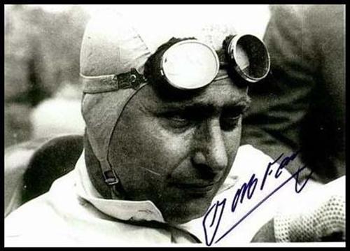 Fangio, probablemente el mayor mito de La F1