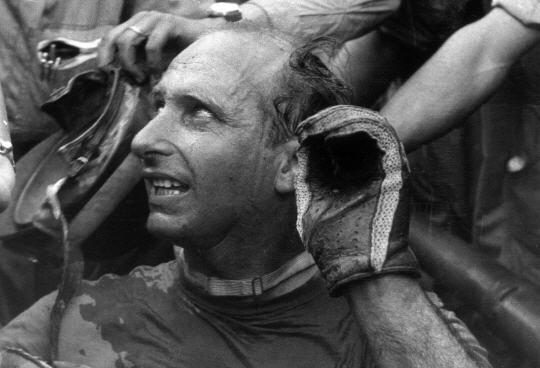 Fangio. Francia 1957