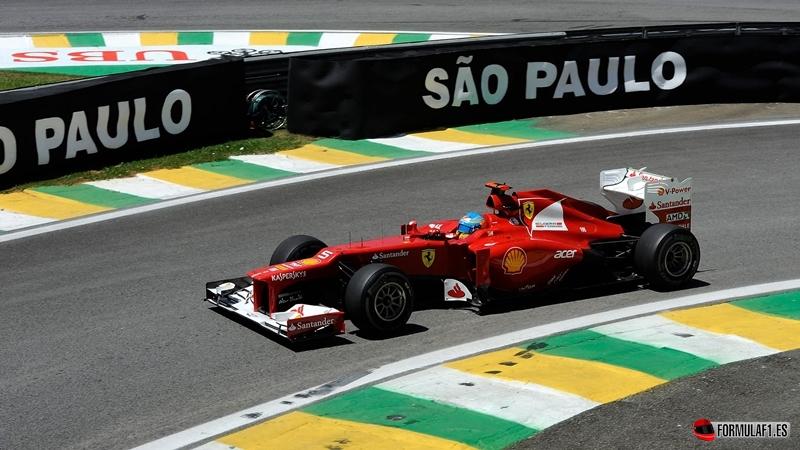 Fernando Alonso, GP Brasil 2012