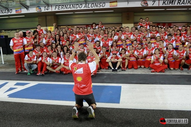 Alonso leaves Ferrari