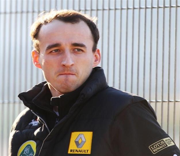 Robert Kubica. Lotus Renault GP.