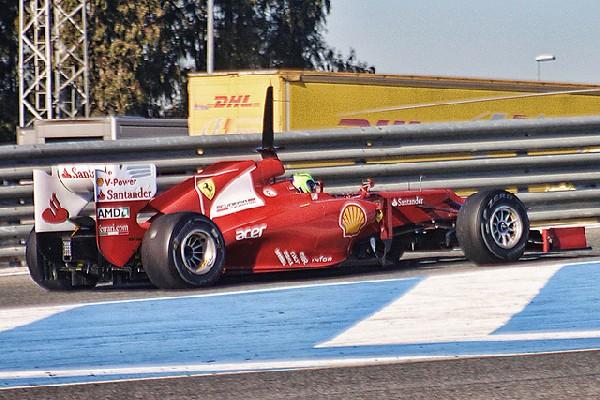 Massa, día 2, Jerez 2012