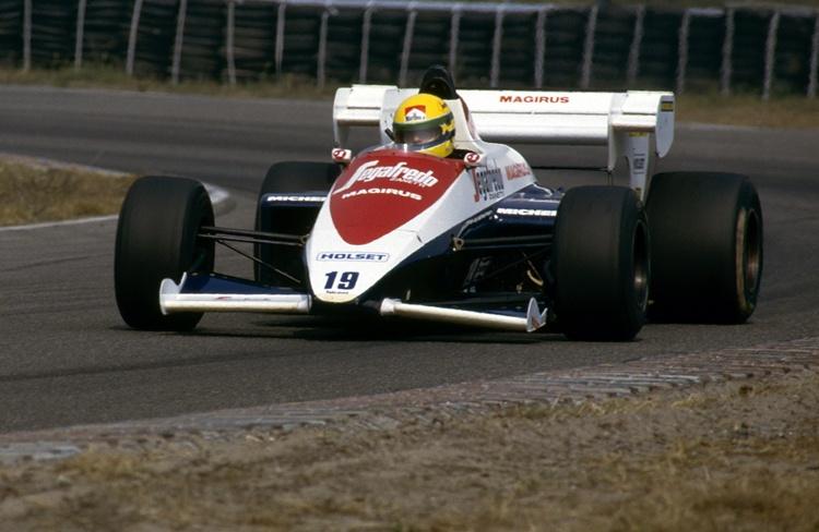 Ayrton Senna con el Toleman en 1984