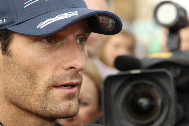 Mark Webber en Australia 2012