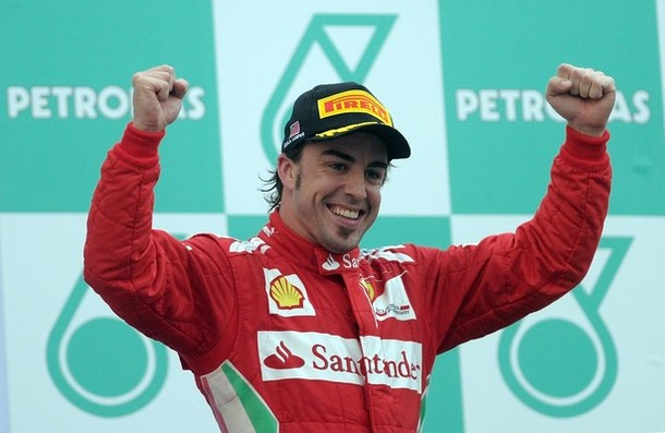 Malasia 2012: Alonso, impresionante