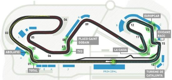 Circuito Montmelo : Circuito de montmeló españa fórmula f