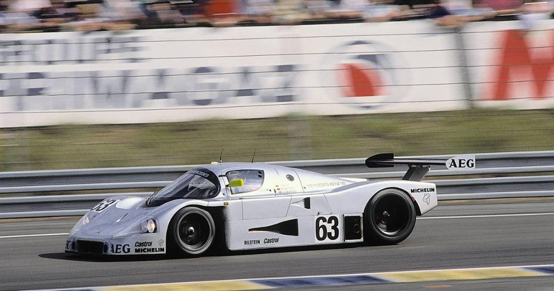 Sauber C9 ganador en Le Mans en 1989
