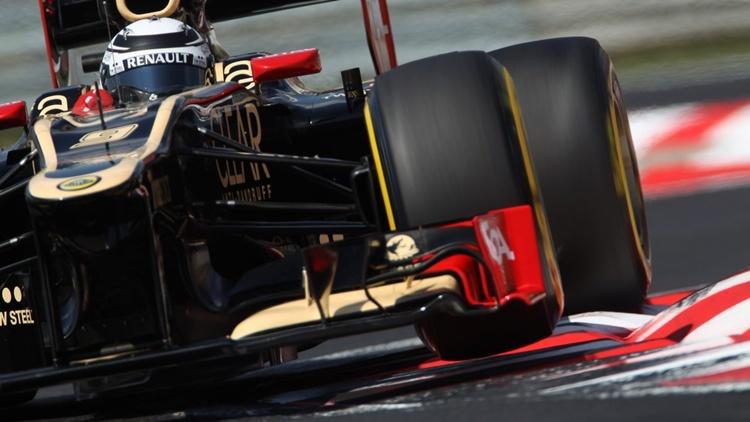 Kimi Raikkonen con el Lotus en 2012