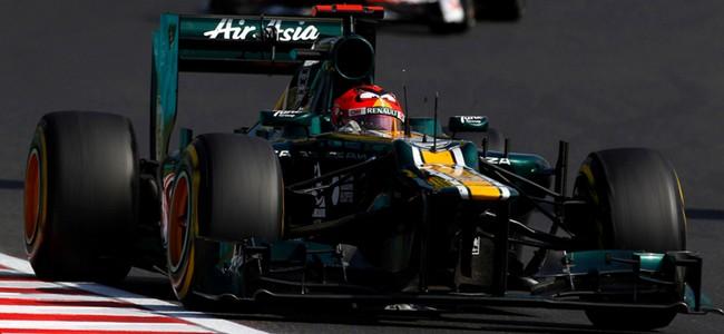 Heikki Kovalainen 2012 Hungarian Grand Prix