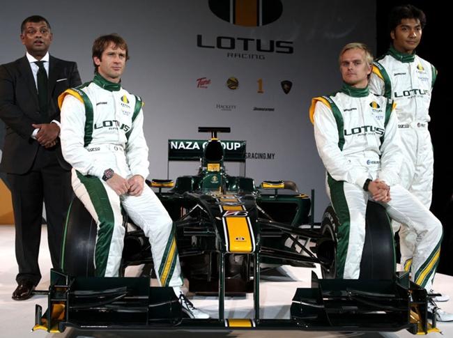 Lotus Racing 2010, T127