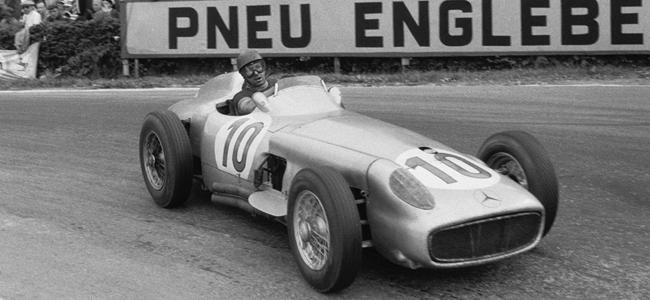 Mercedes-Benz W196 de Juan Manuel Fangio