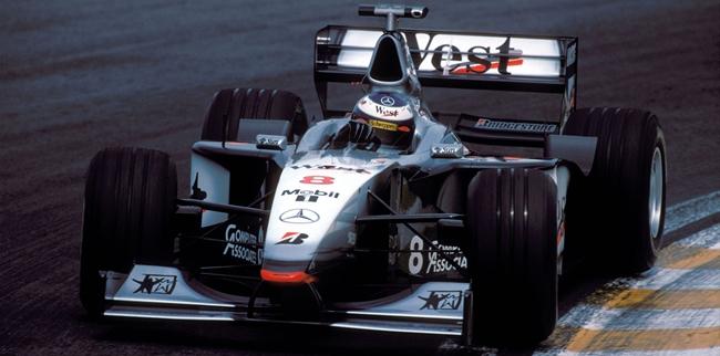Mika Häkkinen, McLaren-Mercedes MP4-13, 1998