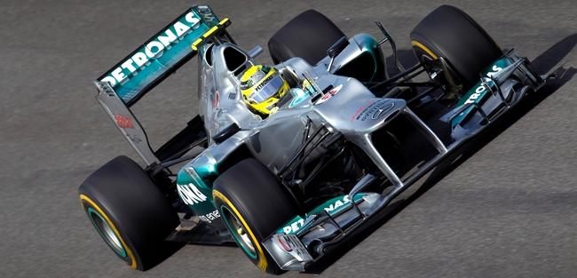 Nico Rosberg, Mercedes, GP de Corea 2012