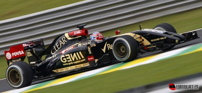 Romain Grosjean, Lotus, F1