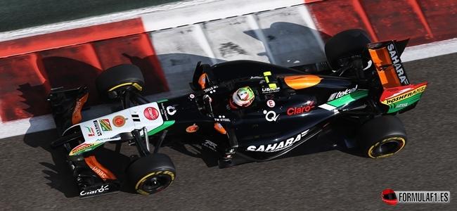 Sergio Perez, Force India, 2014