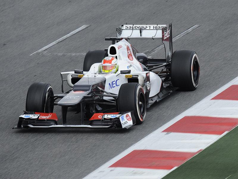 Sergio Perez en 2012