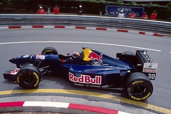Heinz-Harald Frentzen en Mónaco 1995