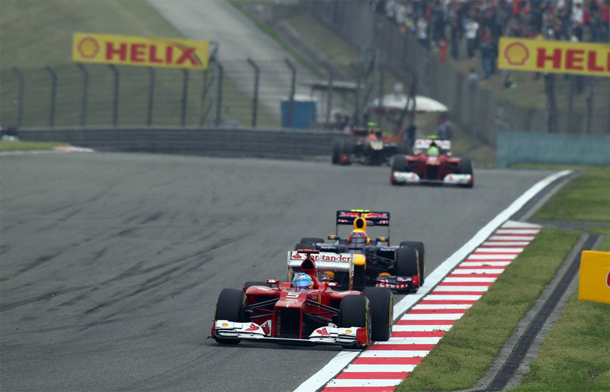 Análisis del GP de China por equipos