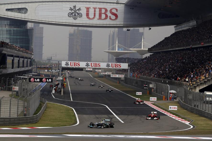 Estrategias para el GP de China