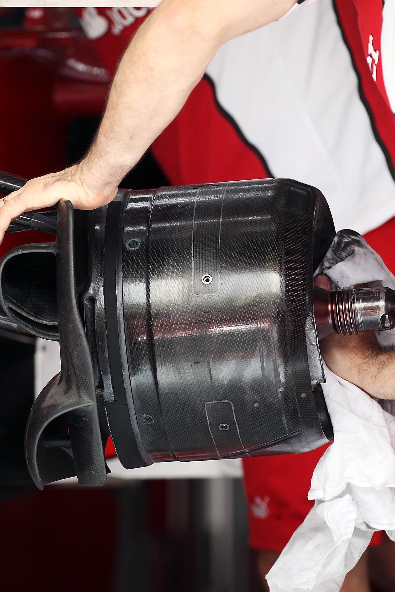 Ferrari, la referencia en los cambios de neumáticos