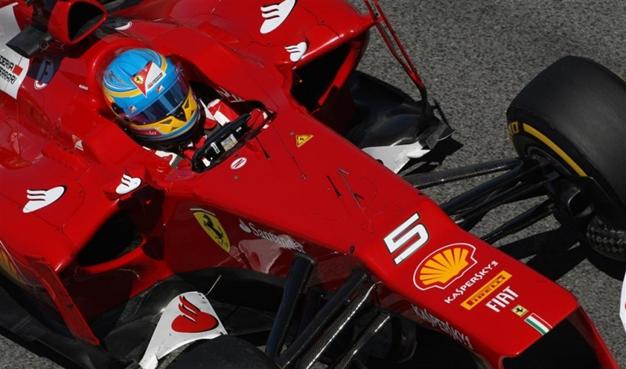 Alonso, segundo en Barcelona. GP España 2012