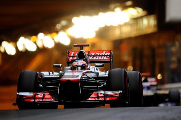 J. Button. GP Mónaco 2012