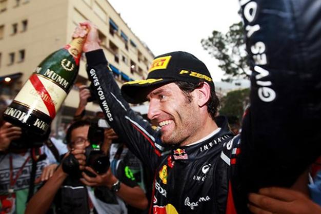 GP Mónaco 2012: Webber se suma a la fiesta de campeones... ¡Seis de seis!