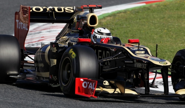 Otro podio para Raikkonen. GP España 2012