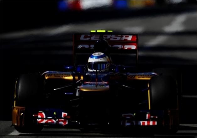 Vergne. GP. de Mónaco 2012