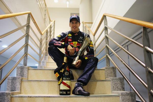 Sebastian Vettel, Campeón del Mundo de F1 2012