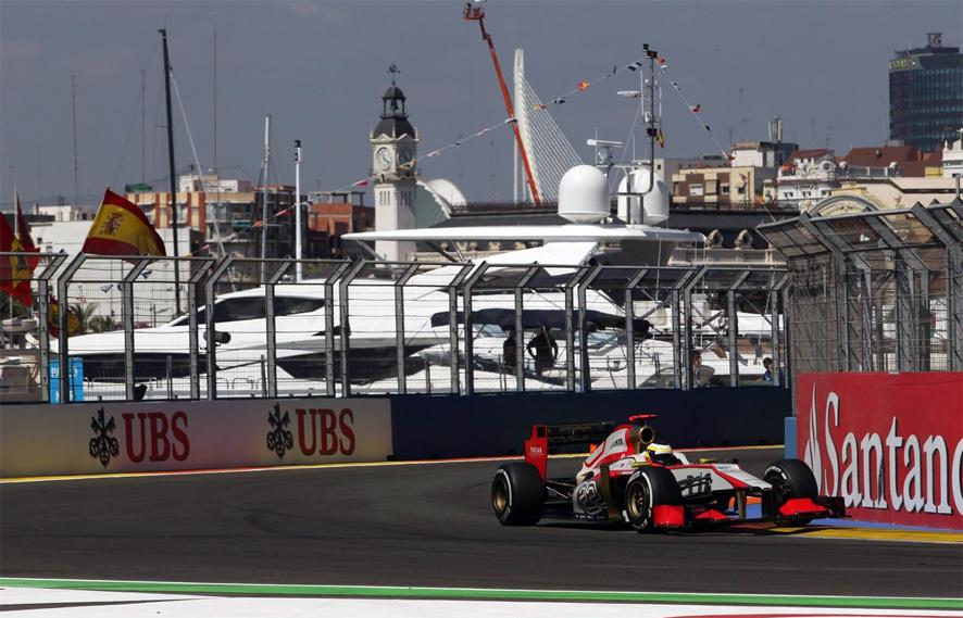 Calificación GP de Europa: Nueva pole para Vettel en Valencia