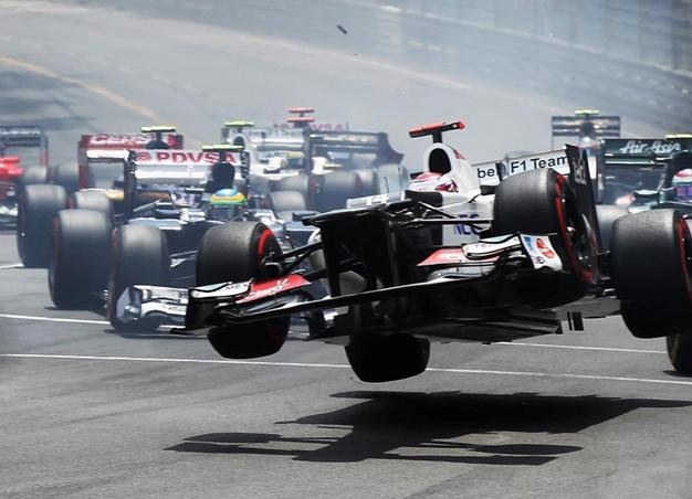 Kamui Kobayashi. GP Mónaco 2012