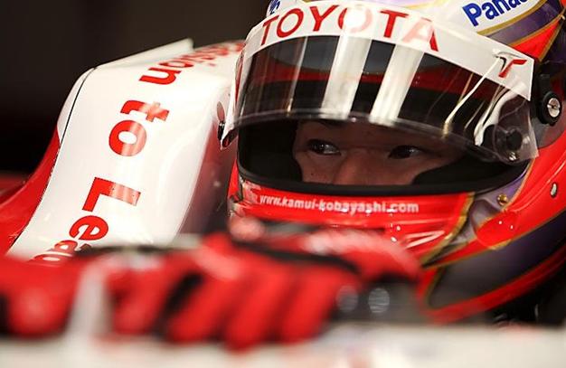 Kobayashi sustituye a Glock en Toyota. GP Abu Dabi 2009